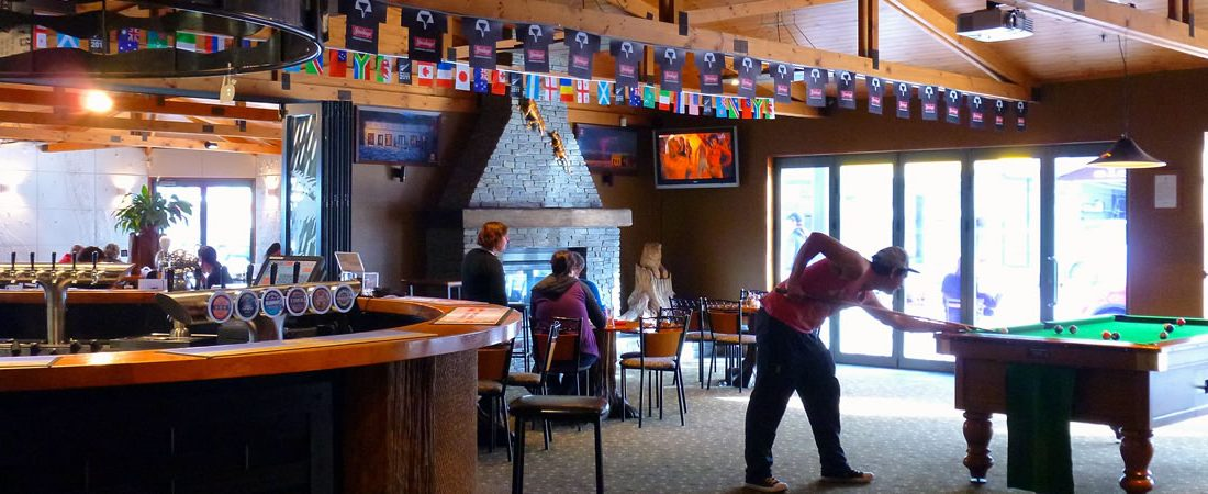 Our bar offers live sports on TV, pool table, darts and a wide selection of beverages.